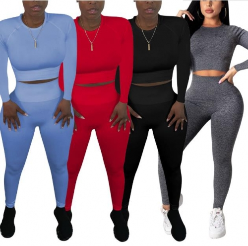 Charming Yoga sportswear pants suit