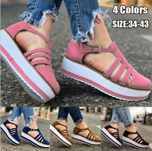 Charming Casual breathable platform sandals