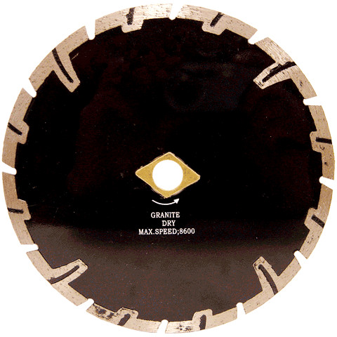Proteeth Dry cutting turbo diamond saw blade