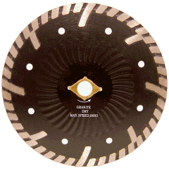 Side Protection Turbo diamond saw blade