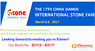 Raizi will attend Xiamen Stone Fair on 6-9th, March 2017 in Xiamen, China