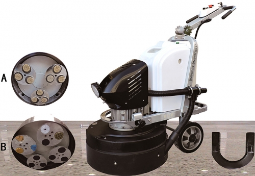 ASL T8 650mm Concrete Floor grinder