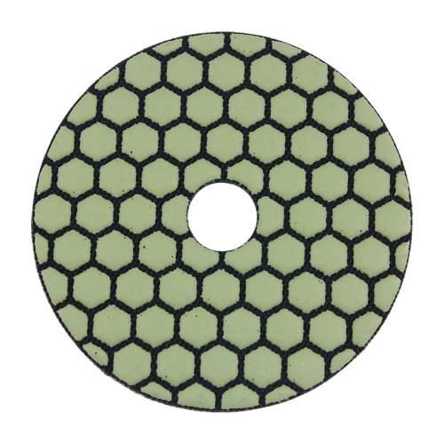 YgCon 5 inch dry diamond polishing pads: Polishing Concrete Edge