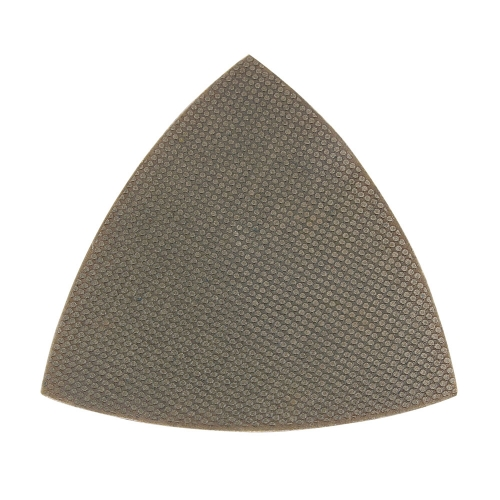 Triangle-Electroplated Flexible Wet Polishing pad