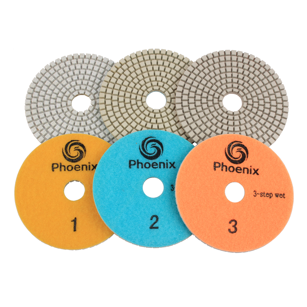 3 Step Dry/wet Hybrid Polishing Pad