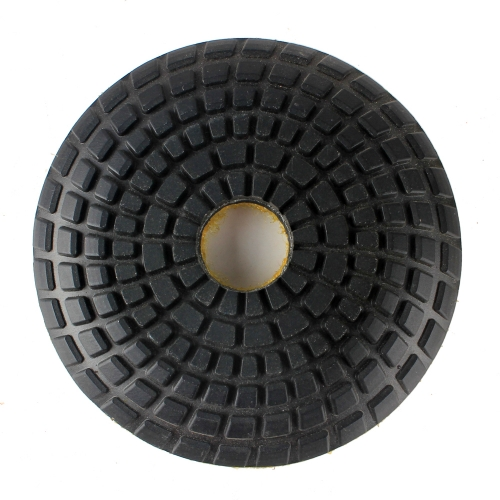 Bowl wet polishing pad