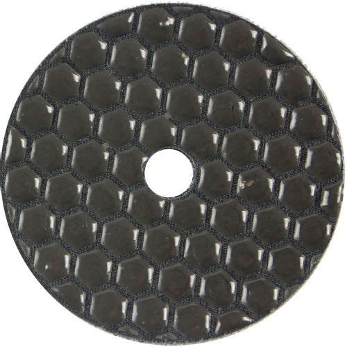 Marble dry polishing pads