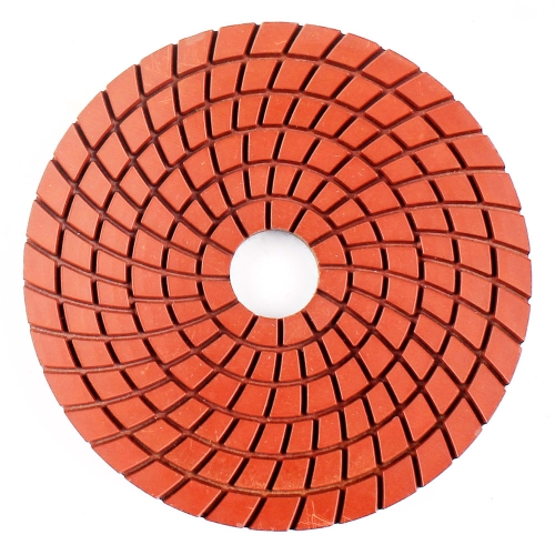 Spill wet polishing pad