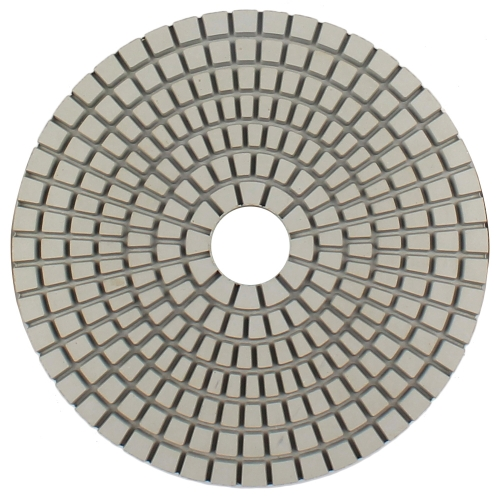 FlexCon4-3000 4 inch Flexible dry polishing pads for concrete countertops