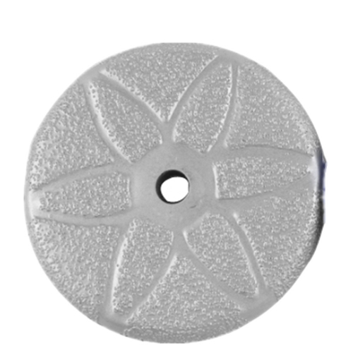 5 inch Velcro backed vacuum brazed polishing pad