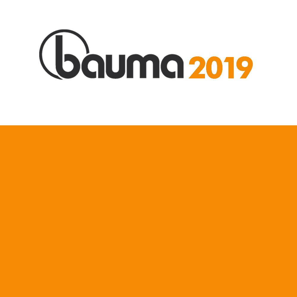 Thanks for visiting our booth at Bauma 2019, Germany