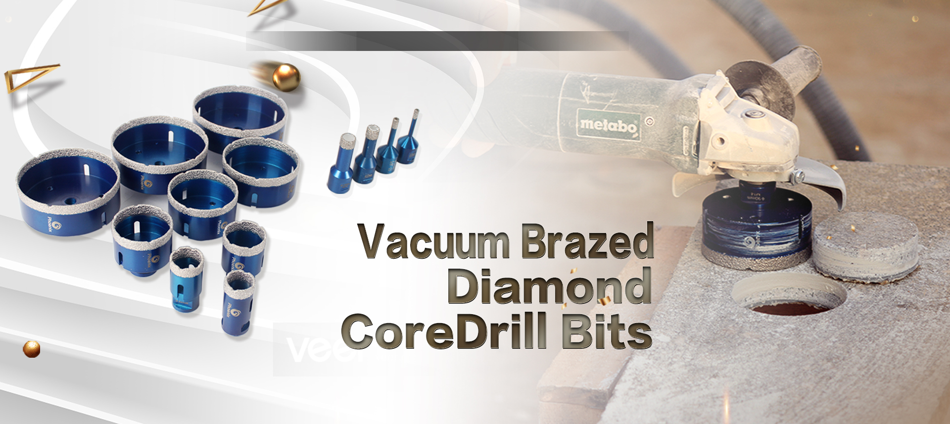 Raizi Vacuum Brazed Diamond Core Dril bits