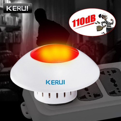 Kerui J009 Adjustable Volume Wireless strobe Siren system