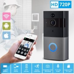 KERUI Tuya Smart Life Wireless WiFi Video Intercom Doorbell 2MP 1080P Phone Call Door Bell Home Security Night Vision Camera