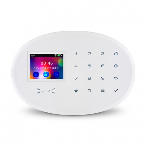 KERUI w20 WIFI GSM Home Security Alarm System With 2.4 inch TFT Touch Panel APP Control RFID Card Wireless Smart Home Burglar Alarm