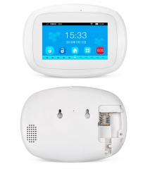 KERUI 4.3 inch TFT Color Screen Wireless Security Alarm WIFI+GSM Alarm System PIR Motion Sensor Door Sensor