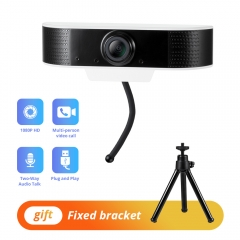 KERUI New Webcam 1080P USB HD Web Camera Two-way Audio Talk 1920x1080  Plug and Play Mini Webcam Support Windows/Android/Linux/Mac System