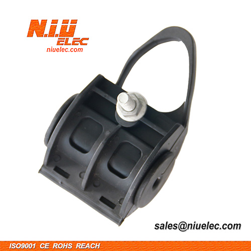 Suspension clamp for fiber cable
