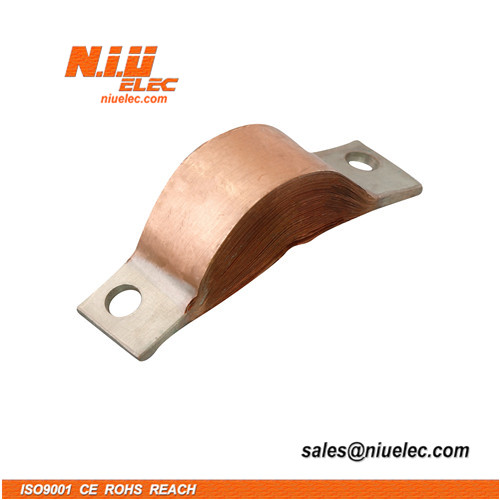flexible copper connector made out of copper foil
