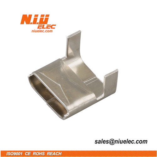 Stainless steel buckle for banding with LB type
