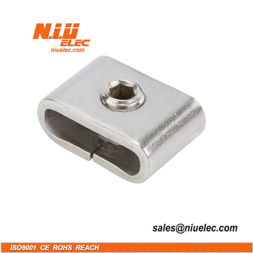 Stainless steel buckle for banding with BB type