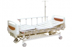 High Quality Cheap 3 cranks Manual folding Hospital bed CW-A00014
