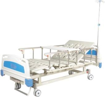 High Quality Manual Two cranks fold-away Hospital Bed CW-A00013