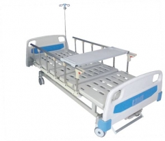 High Quality 2 cranks Manual folding Hospital Bed CW-A00014A