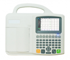 Digital Portable ECG Machine CE Approved ECG-E601C