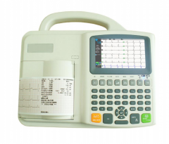 Three Channel Interpretive Electrocardiograph ECG-E301C