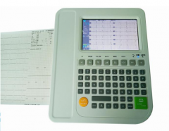 Digital ECG Machine CE Approved ECG-E1201C