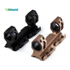 Ohhunt Rock-Solid Hunting Tactical Scope 25.4mm 30mm weaver picatinny Rings QD Mounts Bases With Quick Detach Auto Lock System