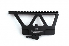 Quick Detach AK Gun Rail Scope Mount Base Picatinny Side Rail Mounting For AK 47 AK 74 Black Tan