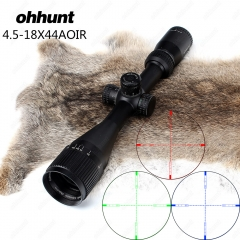 Ohhunt 4.5-18X44 AOIR Hunting Riflescopes Tactical Optical Sight Seismic sights Rifle Scope