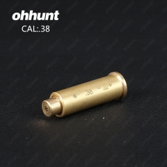 Ohhunt CAL.38 Cartridge Red Laser Bore Sighter Boresighter Sighting Sight Boresight Colimador For Hu