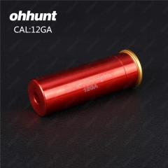 Ohhunt 12GA Cartridge Red Laser Bore Sighter Boresighter