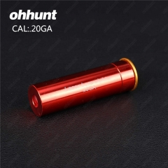 Ohhunt 20GA Cartridge Red Laser Bore Sighter Boresighter