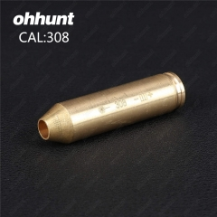ohhunt CAL .308 Cartridge Red Laser Bore Sighter Colimador