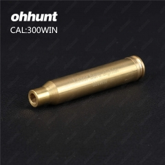 Ohhunt 300WIN Cartridge Red Laser Bore Sighter