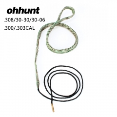 Free Shipping Bore Snake .308 .30 300 303 Cal & 7.62mm Boresnake Rifle Cleaner Kit Hunting Tactical