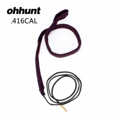 Tactical Hunting Bore Snake Gun Cleaning For .416 .44 45-70 458 460 Caliber Rifles Free Shipping