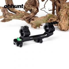 Ohhunt Integral 30mm Offset Weaver Scope Rings Mount Bi-direction Picatinny Rail Mounts
