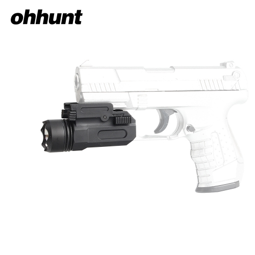 ohhunt 150 Lumens White Light Tactical LED Flashlight Quick Release Weaver Picatinny Mount Nylon Material For Hunting Shooting
