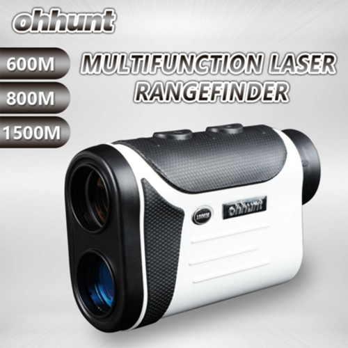Ohhunt Multifunction Laser Rangefinders 8X 600M Hunting Golf Monocular Range Finder Distance Meter Outdoor Measuring