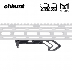 ohhunt M-LOK Foregrip Handle & keymod Foregrip Handguard  Angle Hand Stop Accessory For AR15