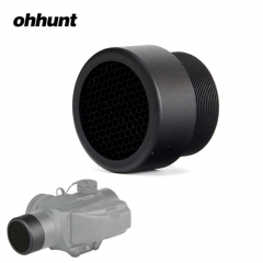 ohhunt Tactical Red Dot Sights Cover KILLFLASH DEFENDER Protector Cap For 1x20 Vortex Sparc Sight Aluminum Black