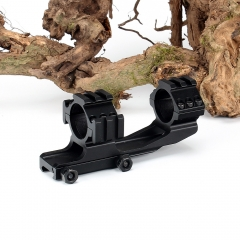 ohhunt Rock-Solid Hunting Tactical Dual Use 30mm Offset Rifle Scope Rings Mount Accessories with Extra Picatinny Weaver Rail