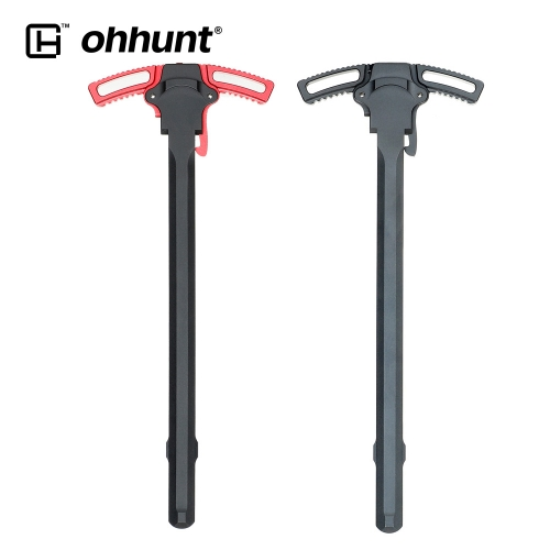 ohhunt Charging Handle Ambidextrous Aluminium Alloy Anti-slip Double Sided deign Easy To Grip Tactical Hunting Accessories For .223 5.56