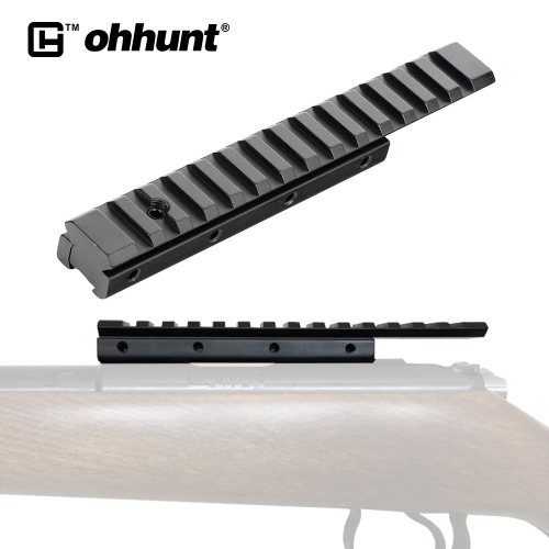 ohhunt Hunting Optical Base 11mm to 20mm Converter Dovetail Extend Weaver Picatinny Rail Adapter Tactical Scope Mount