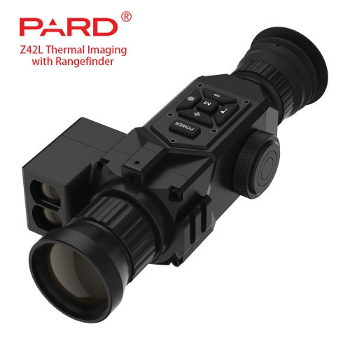 PARD Z42 Hunt-Pro 384-17 Digital Thermal Imaging Hunting Rifle Scope Night Vision Optics with Rangefinder